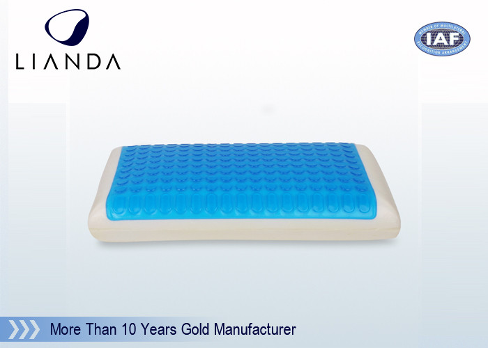 Fashionable Breathable Comfort Revolution Cooling Bed Silicone Gel Pillow with sleep experience