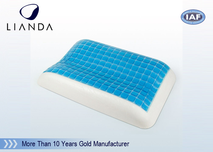 100% Gentle Polyurethane Memory Foam Pillows With Removable Velour Cover Machine Washable