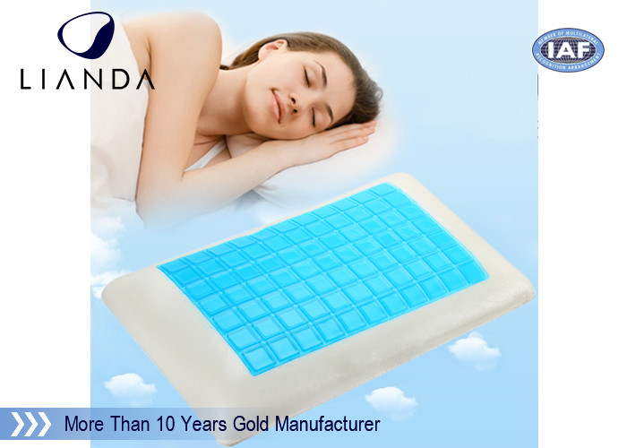 Summer Fashion Silicone memory foam Cooling Gel Pillow summer season products