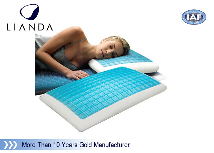 Memory Foam & Hydraluxe Cooling Contour Pillow , gel cooled pillow