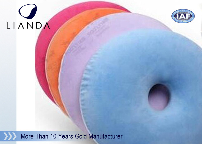Cutomized memory foam cushion / donut hemorrhoid seat cushion , High density