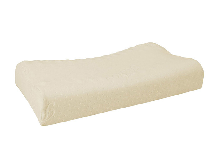 Removable Cover Memory Foam Contour Bed Pillow Orthopedic Neck Support Mid Firmness